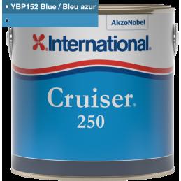 Antifouling.fr - Antifouling International Cruiser 250 Bleu Azur / Blue YBP152 2.5L