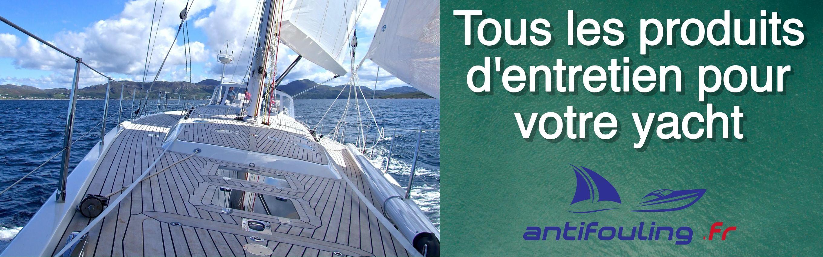Tous les produits d'entretien pour votre yacht chez Antifouling.fr